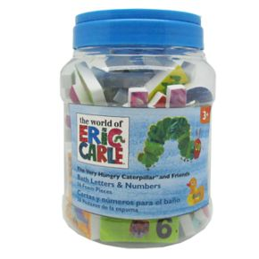 The World of Eric Carle The Very Hungry Caterpillar & Friends 16-pc. Bath Letters & Numbers Set