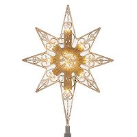 National Tree Company Light-Up Star Christmas Tree Topper