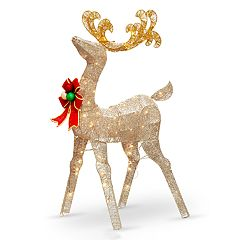 National Tree Company 48-in. Light-Up Deer Indoor / Outdoor Decor