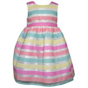 Girls 4-6x Blueberi Boulevard Striped Dress & Cardigan Set