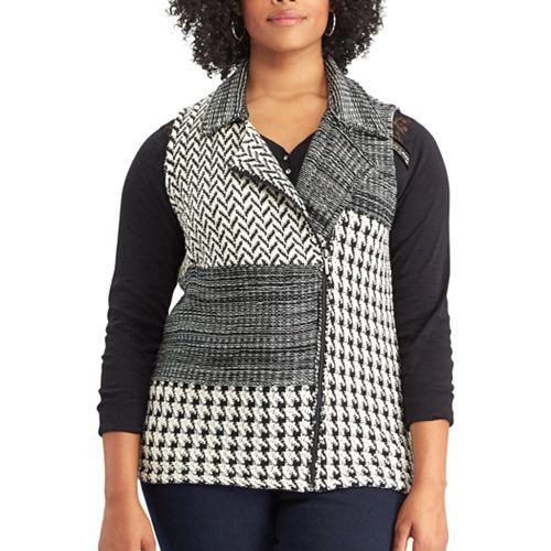 9e4c890df05 Plus Size Chaps Sweater Vest