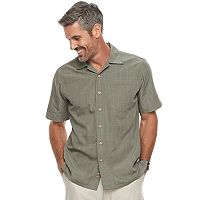 Men's Batik Bay Regular-Fit Microfiber Button-Down Shirt