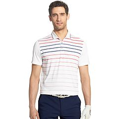 Men's IZOD SportFlex Regular-Fit Solid Stretch Performance Polo