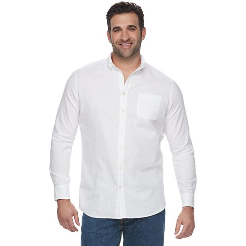 Big & Tall SONOMA Goods for Life™ Button-Down Shirt