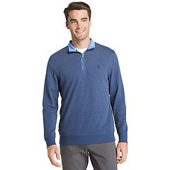 Men's IZOD Saltwater Classic-Fit Fleece Quarter-Zip Pullover