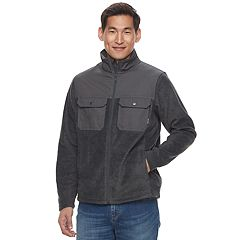Big & Tall Men's Columbia Flattop Ridge Omni-Wick Fleece Jacket