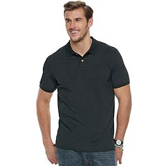 Big & Tall SONOMA Goods for Life™ Flexwear Modern-Fit Stretch Pique Polo