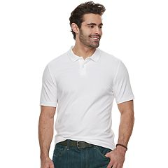 Big & Tall SONOMA Goods for Life™ Flexwear Stretch Pique Polo