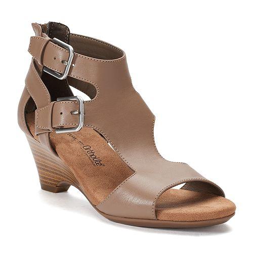 665378c57c06 Croft   Barrow® Geraldine Women s Ortholite Wedge Sandals