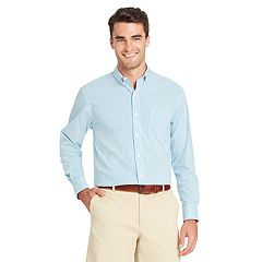 Men's IZOD Essential Classic-Fit Premium Stretch Button-Down Shirt