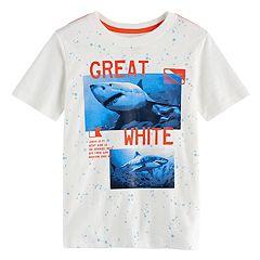 Boys 4-7x SONOMA Goods for Life™ 'Great White' Shark Graphic Tee