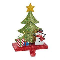 Kurt Adler Snowman Christmas Stocking Holder