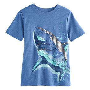 Boys 4-7x SONOMA Goods for Life? Foiled Shark Graphic Tee
