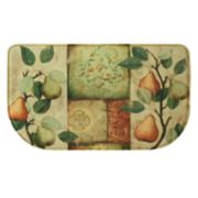 "Bacova Les Poires Memory Foam Kitchen Rug - 18"" x 30"""