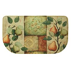 Bacova Les Poires Memory Foam Kitchen Rug - 18' x 30'