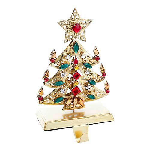 kurt adler rhinestone christmas stocking holder - Kurt Adler Christmas