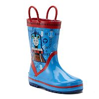 Thomas the Tank Engine Toddler Boys' Waterproof Rain Boots
