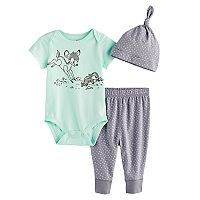 Disney's Bambi Bodysuit, Pants, & Hat Set by Jumping Beans®