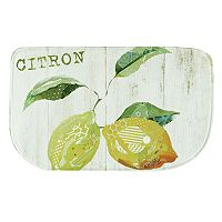 Bacova Citron Memory Foam Kitchen Rug