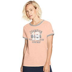 Women's Champion Heritage Raglan Ringer Graphic Tee