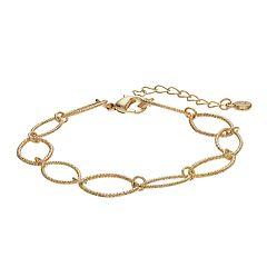 LC Lauren Conrad Oval Link Bracelet
