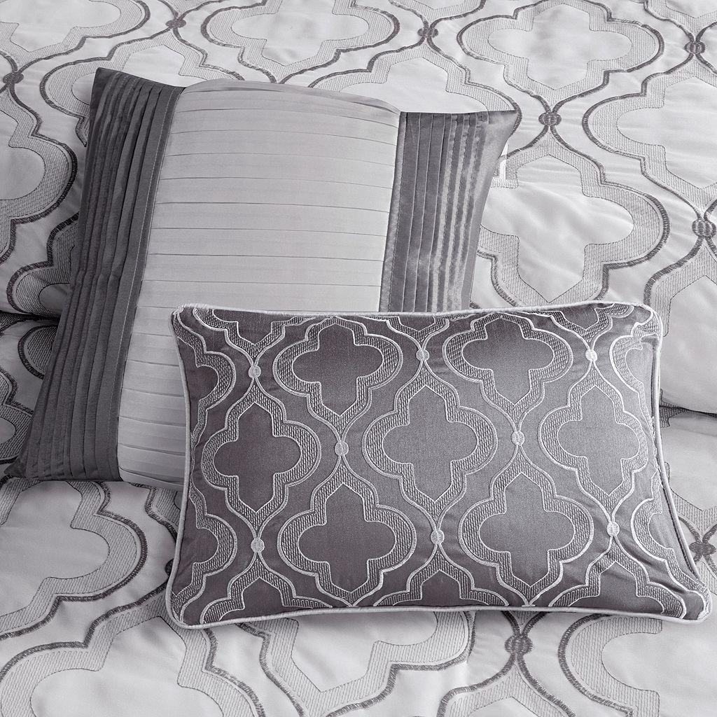 Madison Park Chrystal 7-piece Embroidered Comforter Set
