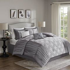 Madison Park Chrystal 7-piece Embroidered Comforter Set