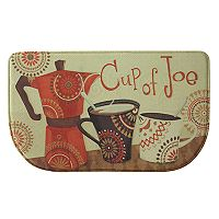 Bacova Cup of Joe Memory Foam Kitchen Rug - 18