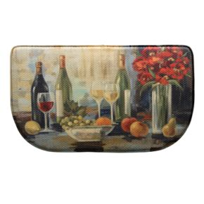 """Bacova Afternoon Delight Memory Foam Kitchen Rug - 18"""" x 30"""""""