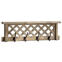 Rustic Farmhouse Wall Shelf Decor