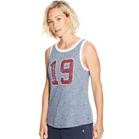 Women's Champion Heritage Ringer Graphic Tank