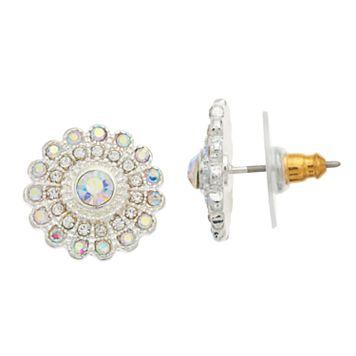 LC Lauren Conrad Floral Nickel Free Stud Earrings