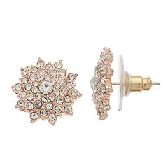 LC Lauren Conrad  Cluster Nickel Free Button Stud Earring