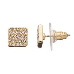 LC Lauren Conrad Square Nickel Free Stud Earrings