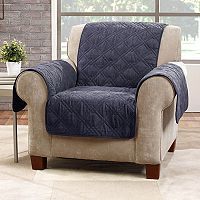 Sure Fit Deluxe Non-Skid Waterproof Chair Slipcover