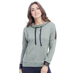 Women's Balance Collection Skye Thumb Hole Cowl Hoodie
