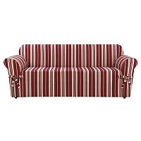 Sure Fit South Hampton Stripe Sofa Slipcover