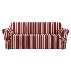 Sure Fit South Hampton Stripe Sofa Slipcover
