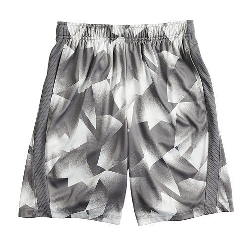 Boys 8-20 & Husky Tek Gear® Dry Tek Print Shorts