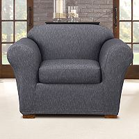 Sure Fit Stretch Denim Chair Slipcover