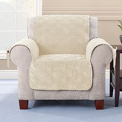 Sure Fit Wide Wale Corduroy Chair Slipcover