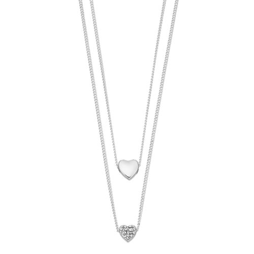 Lc Lauren Conrad Layered Heart Necklace by Kohl's