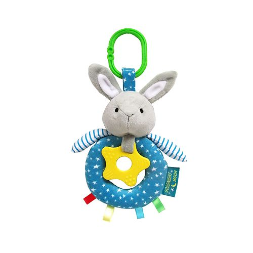 "Kids Preferred ""Goodnight Moon"" Activity Bunny Clip-On Teether"
