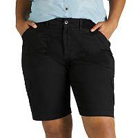 Plus Size Lee Diani Cargo Bermuda Shorts