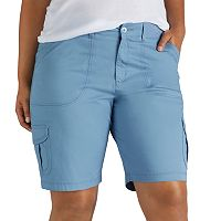 Plus Size Lee Diani Cargo Bermuda Shorts