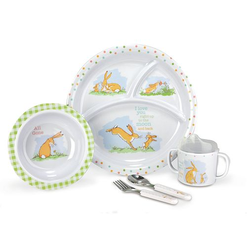 """Kids Preferred """"Guess How Much I Love You"""" 5-pc. Mealtime Set"""