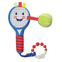 Kids Preferred Little Sport Star Developmental Activity Plush Tennis Racket