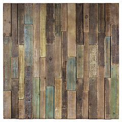 Distressed Rustic Wood Wall Decor