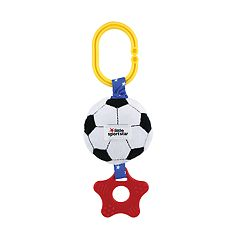 Kids Preferred Little Sport Star Teether Plush Soccer Zippee