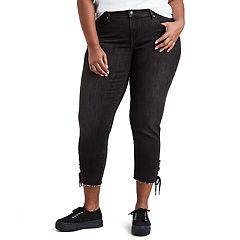 Plus Size Levi's® 711 Lace-Up Ankle Jeans